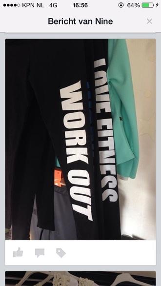 leggings black and white leggings