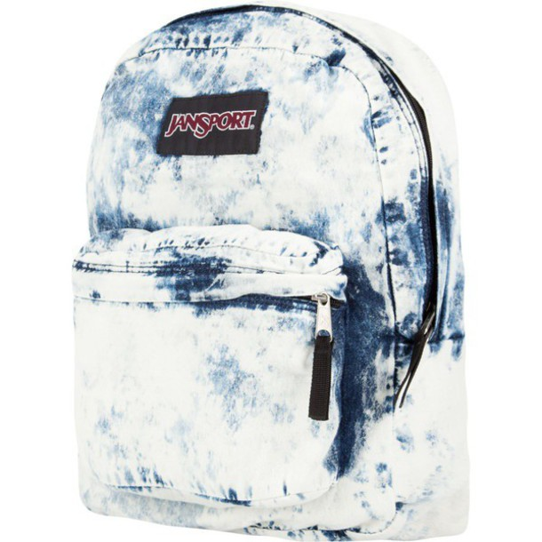 bag backpack denim backpack
