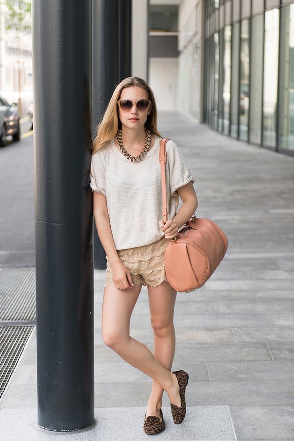 fashion gamble blogger bag sunglasses jewels shirt shorts shoes