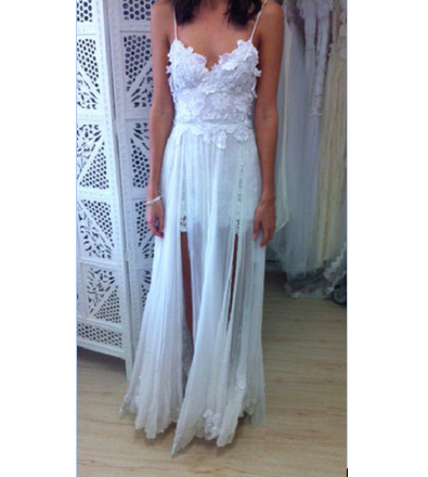 One Sweet Day Lace Chiffon Bridal Gowns