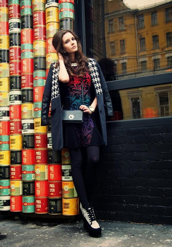 oh my blog dress coat bag shoes jewels