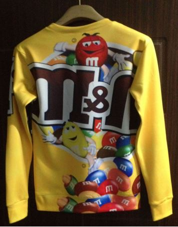 M&ms candy printed sweatshirt from tumblr fashion on storenvy