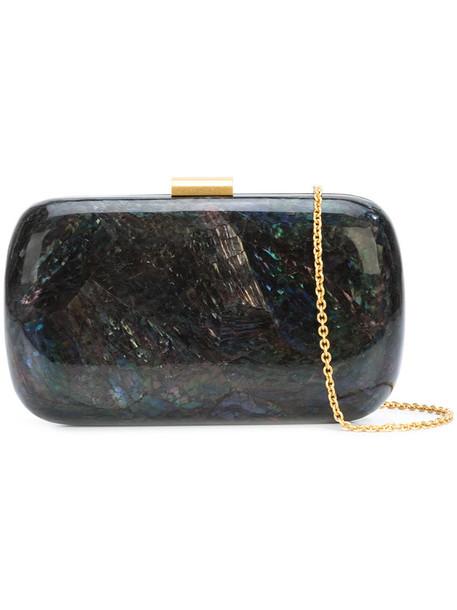 KAYU women shell bag clutch grey