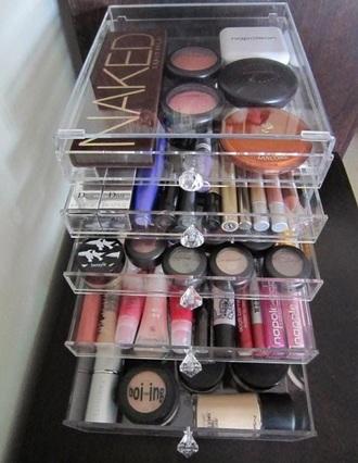 make-up makeup storage home accessory