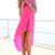SABO SKIRT  Long Tail Dress - Pink - Pink - 58.0000
