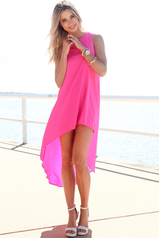 3f26aa82ea SABO SKIRT Long Tail Dress - Pink - Pink - 58.0000