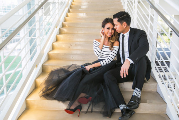 lace and locks blogger striped top stilettos tulle skirt off the shoulder striped off shoulder top three-quarter sleeves top stripes off the shoulder top skirt maxi skirt black skirt peep toe pumps pumps high heel pumps girly menswear mens suit mens shoes