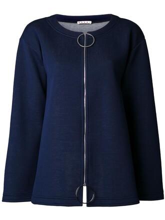 jumper women cotton blue wool sweater