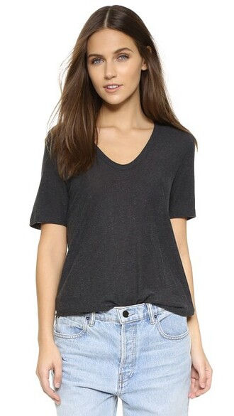 classic charcoal top
