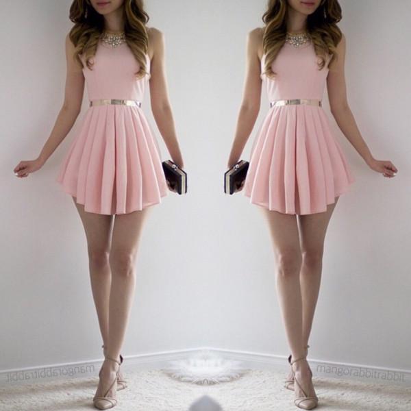 dfbb78c9d05b0 Lisa Dress - Blush | Fashion Nova