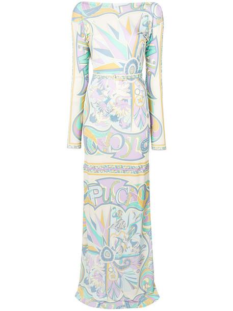 Emilio Pucci gown women silk dress