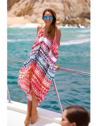 dress summer beach aztec fashion trendy