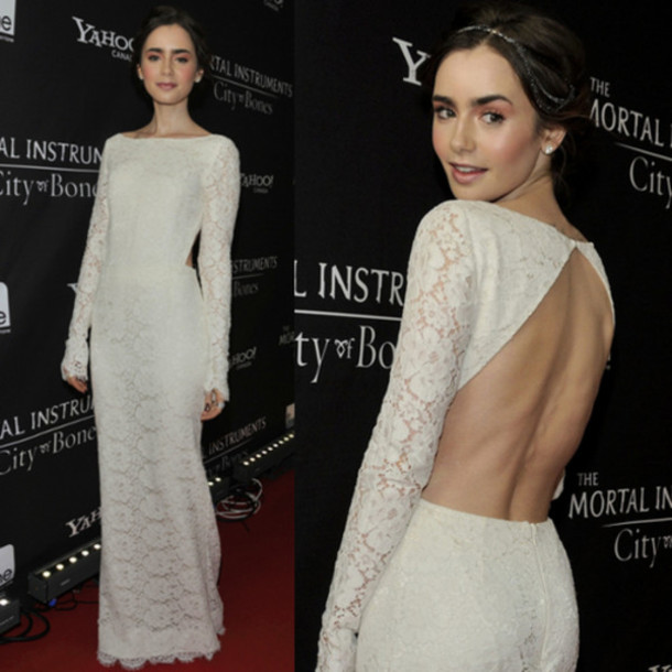 dress, gown, lace, lace gown, red carpet, maxi dress, lace dress ...