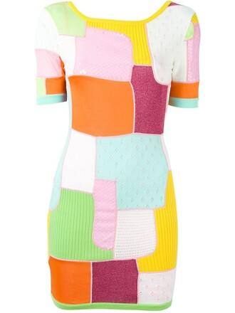 dress mini dress mini women wool purple pink