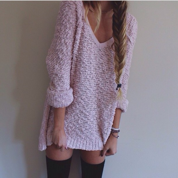 sweater style socks hairstyles
