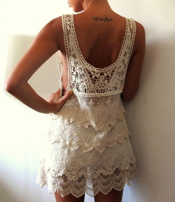 dress lace crochet