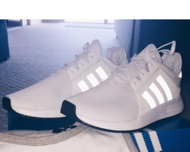 adidas runners white