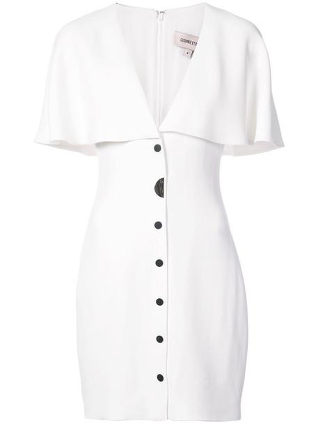 cushnie et ochs dress women spandex white