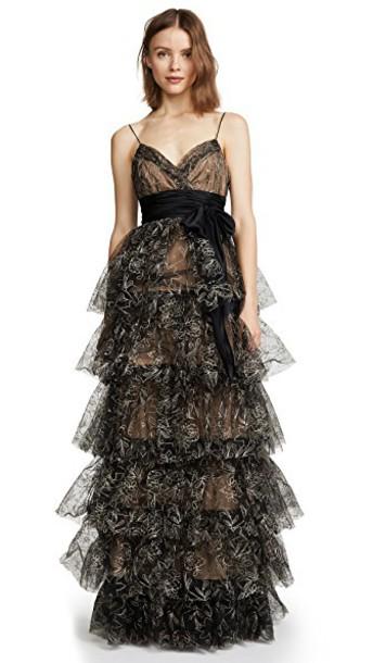 Cinq a Sept gown black dress