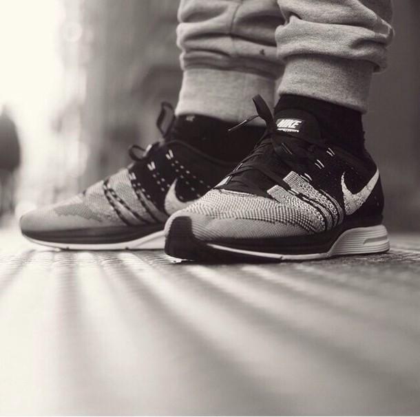shoes nike nike running shoes black nike free run trainers running sportswear athletic