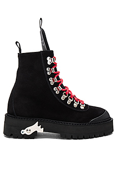 OFF-WHITE Hiking Mountain Boots in Black from Revolve.com
