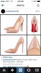 shoes,high heels,nude pumps