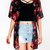Half Sleeves Floral Cardigan|Disheefashion