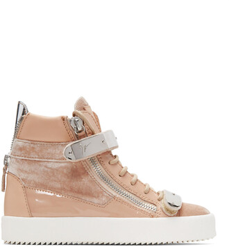 high london sneakers pink shoes