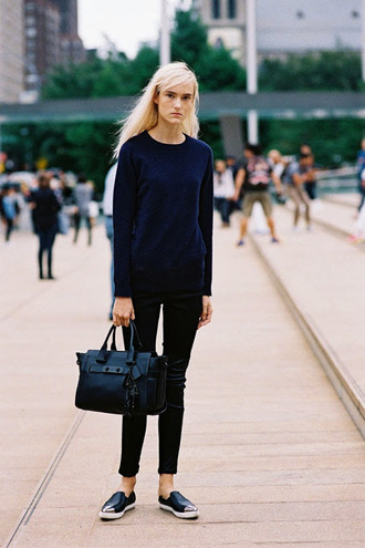 vanessa jackman blogger bag black bag minimalist