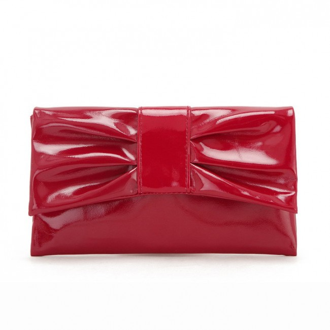 Red Bow Cosmetic Bag
