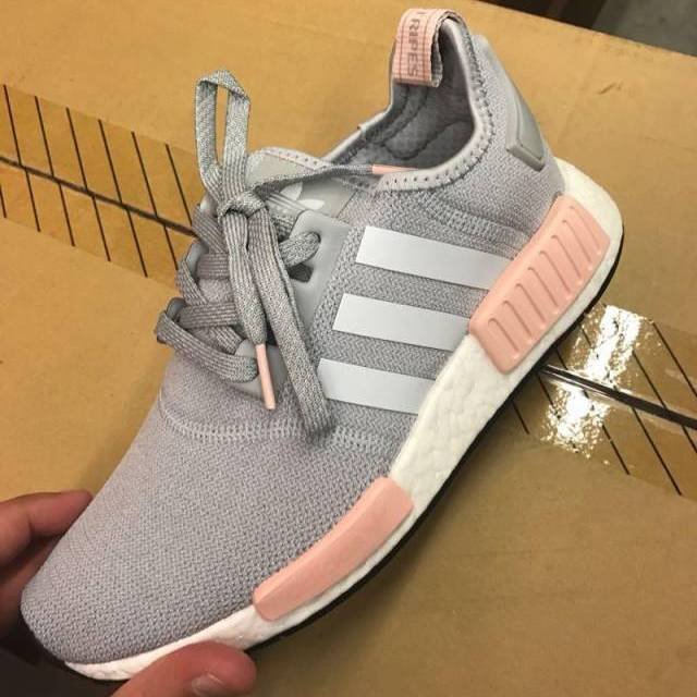adidas nmd womens grey with pink