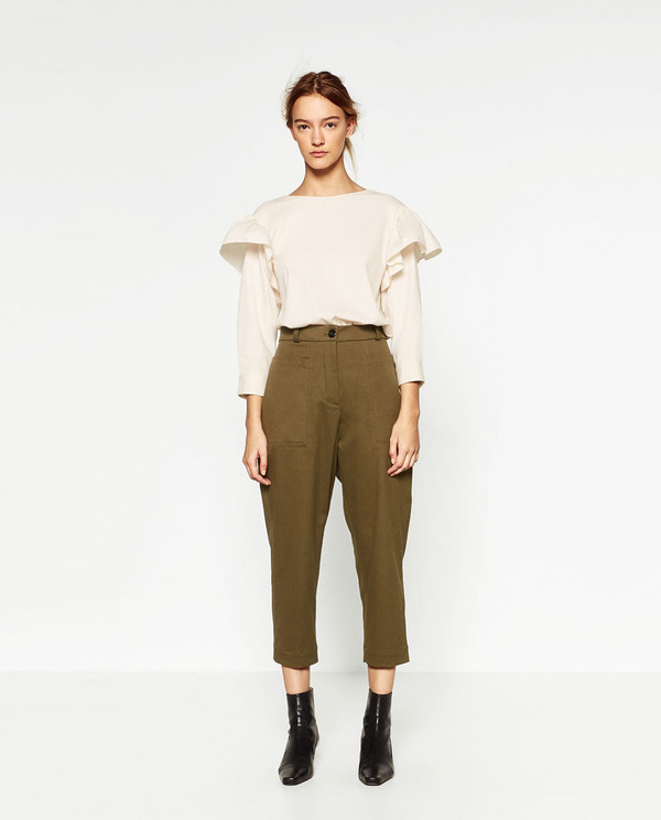 relaxed fit trousers collectionjoin lifewoman zara