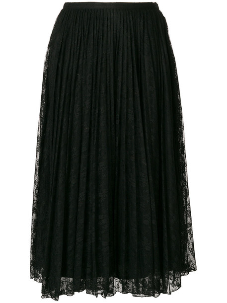 skirt lace skirt long women lace black