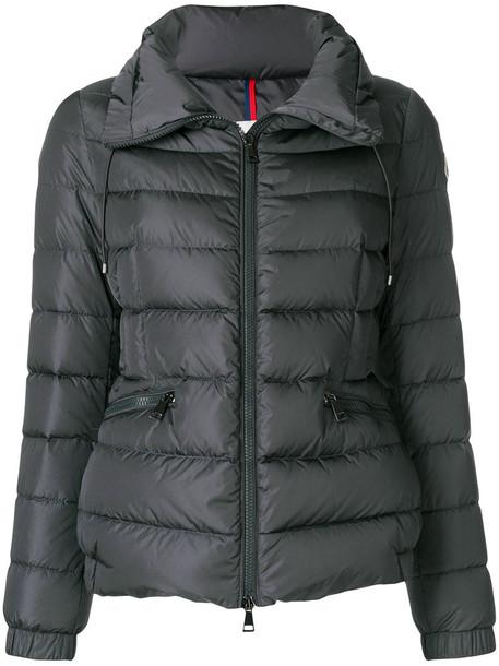 moncler jacket women grey