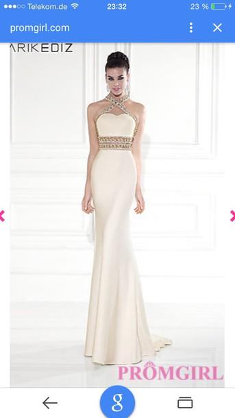 dress gold maxi dress white dress