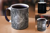 home accessory,harry potter,morphing mug,color changing mug,maruders map,up to no good,solemnly swear map