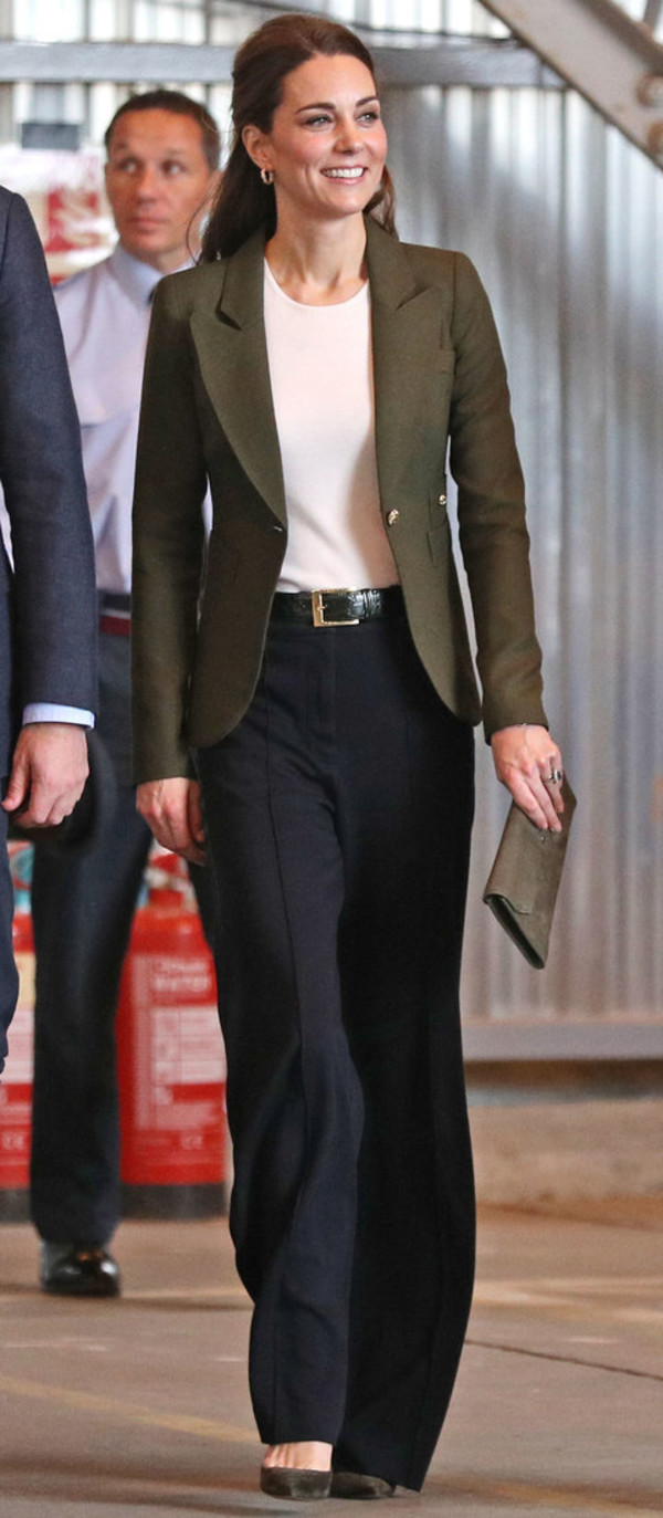 jacket kate middleton celebrity work outfits pants fall outfits