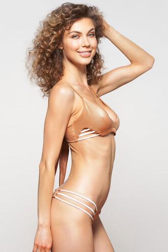 swimwear bikini bottoms dbrie swim skimpy tan
