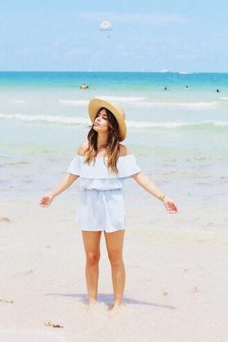 dulceida blogger dress hat jewels