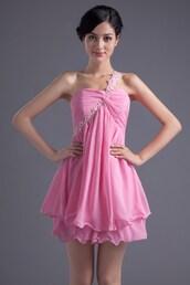 dress,pink homecoming dresses,short prom dress