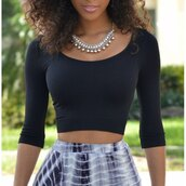 top,black,crop tops,fashion,style,summer,casual,trendy,clothes,hot,rose wholesale-feb
