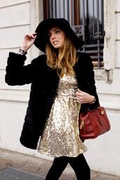 the blonde salad,dress,jewels,hat,coat,bag,loewe bag