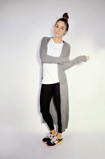 quality rivets blogger leggings nike sneakers knitted cardigan cardigan top shoes