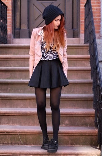 skirt grunge luanna perez luanna90 high waisted skirt black girly grunge jacket shirt hat