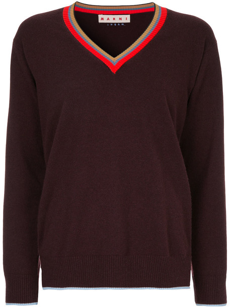 MARNI sweater women brown