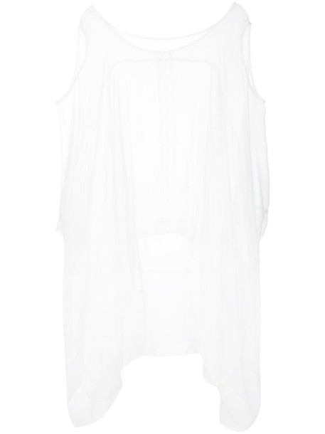 Taylor women white cotton top