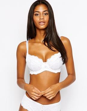 Pour Moi | Pour Moi D-J Amour Lace Underwired Bra at ASOS