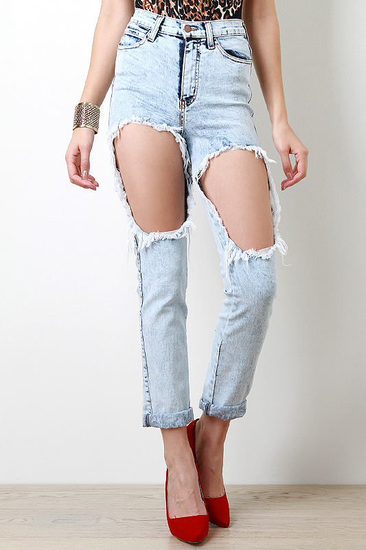 Extreme Glory High Waisted Jeans