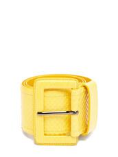 belt,waist belt,yellow
