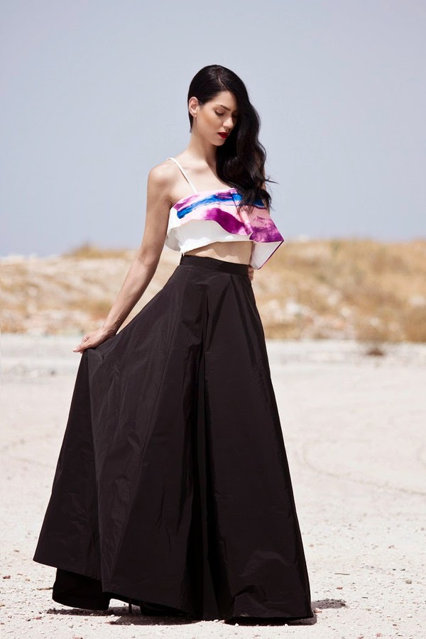 serial klother top skirt